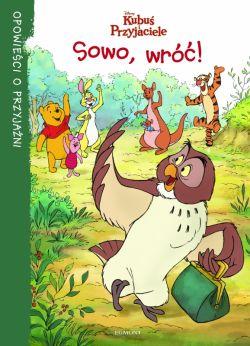 Okładka książki -  Sowo, wróć!