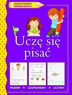 Okładka książki - Uczę się pisać