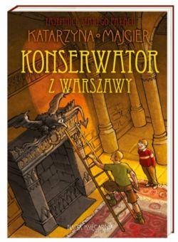 Okładka książki - Konserwator z Warszawy