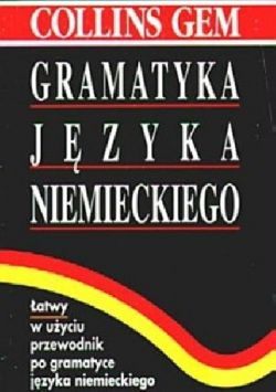 Okładka książki - Gramatyka języka niemieckiego