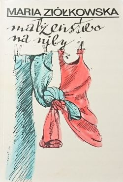 Okładka książki - Małżeństwo na niby