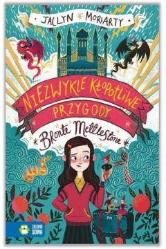Okładka książki - Niezwykle kłopotliwe przygody Bronte Mettlestone