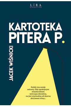 Okładka książki - Kartoteka Pitera P.