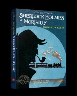 Okładka książki - Komiksy paragrafowe. Sherlock Holmes & Moriarty. Konfrontacja