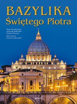 Okładka książki - Bazylika Świętego Piotra