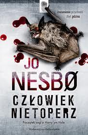 Okładka książki - Człowiek nietoperz