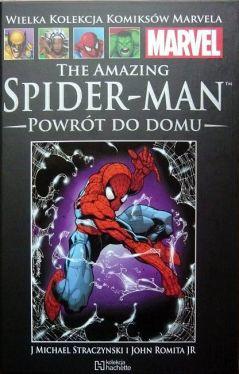Okładka książki - Wielka Kolekcja Komiksów Marvela - 1 - The Amazing Spider-Man: Powrót do domu
