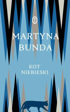 Okładka książki - Kot niebieski