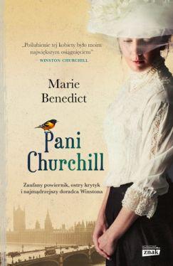 Okładka książki - Pani Churchill