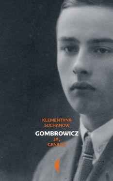 Okładka książki - Gombrowicz. Ja geniusz