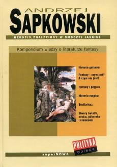 Okładka książki - Rękopis znaleziony w smoczej jaskini. Kompendium wiedzy o literaturze fantasy