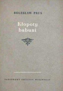 Okładka książki - Kłopoty babuni