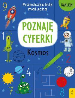 Okładka książki - Przedszkolnik malucha. Poznaję cyferki. Kosmos