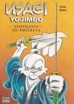 Okładka książki - Usagi yojimbo. Tom 14. Spotkania ze śmiercią