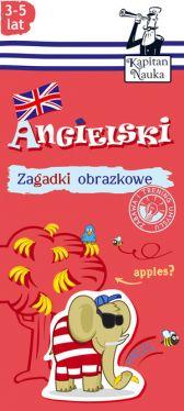 Okładka książki - Zagadki obrazkowe. Angielski. 3-5 lat
