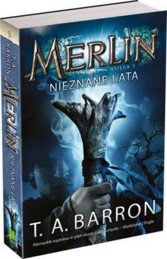 Okładka książki - Merlin. Księga I. Nieznane lata