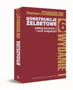 Okładka książki - Konstrukcje żelbetowe według eurokodu 2 i norm związanych T. 6.
