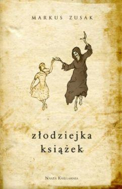 Okładka książki - Złodziejka książek