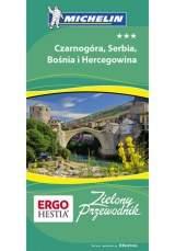 Okładka książki - Czarnogóra, Serbia, Bośnia i Hercegowina. Zielony Przewodnik. Wydanie 1