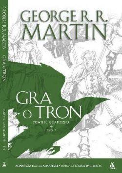 Okładka książki - Gra o Tron. Powieść graficzna. Tom 2
