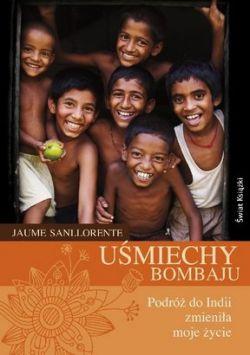 Okładka książki - Uśmiechy Bombaju