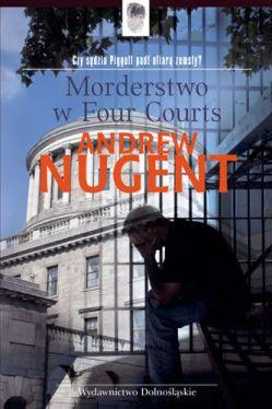 Okładka książki - Morderstwo w four courts