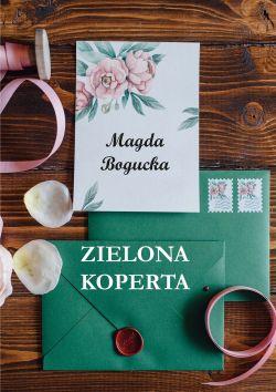 Okładka książki - Zielona koperta