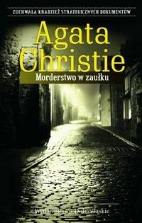 Okładka książki - Morderstwo w zaułku