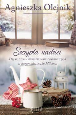 Okładka książki - Szczypta nadziei
