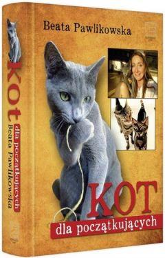 Okładka książki - Kot dla początkujących