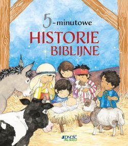 Okładka książki - 5-minutowe historie biblijne