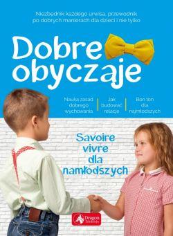 Okładka książki - Dobre obyczaje dla dzieci