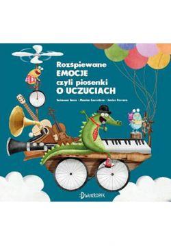Okładka książki - Rozśpiewane emocje, czyli piosenki o uczuciach. Uczuciometr