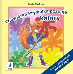 Okładka książki - Wiewiórka Prymulka poznaje kolory