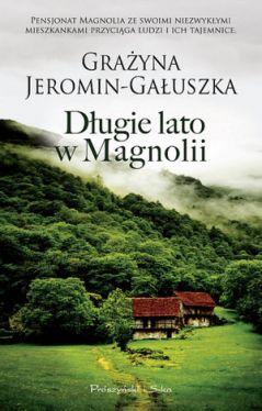 Okładka książki - Długie lato w Magnolii