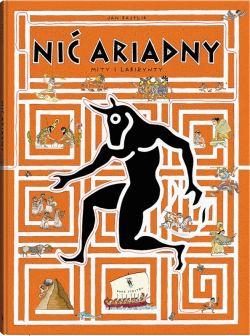 Okładka książki - Nić Ariadny. Mity i labirynty