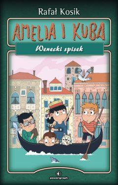 Okładka książki - Amelia i Kuba. Wenecki spisek