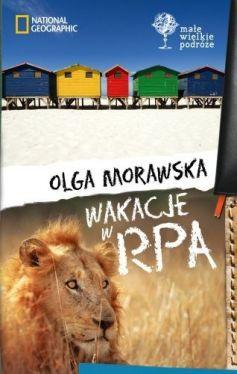 Okładka książki - Wakacje w RPA