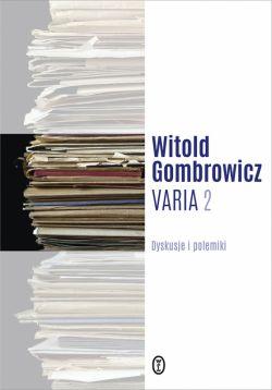 Okładka książki - Varia t. 2. Dyskusje i polemiki