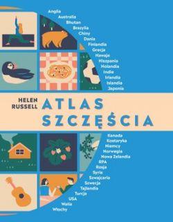 Okładka książki - Atlas szczęścia