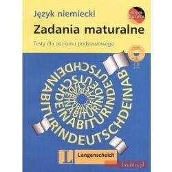 Okładka książki - Zadania maturalne. Język niemiecki. Testy dla poziomu podstawowego