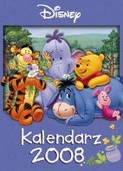 Okładka książki - Kalendarz ścienny 2008. Kubuś Puchatek