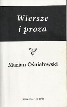 Wiersze I Proza 289884 Marian Ośniałowski Książka