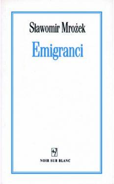 Okładka książki - Emigranci