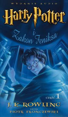 Okładka książki - Harry Potter i Zakon Feniksa (audiobook)