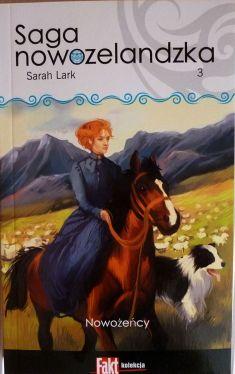 Okładka książki - Saga nowozelandzka. Tom.3. Nowożeńcy