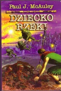Okładka książki - Dziecko rzeki