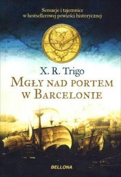 Okładka książki - Mgły nad portem w Barcelonie