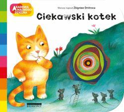 Okładka książki - Ciekawski kotek. Akademia mądrego dziecka. A to ciekawe