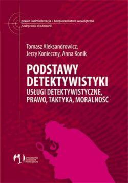 Okładka książki - Podstawy detektywistyki